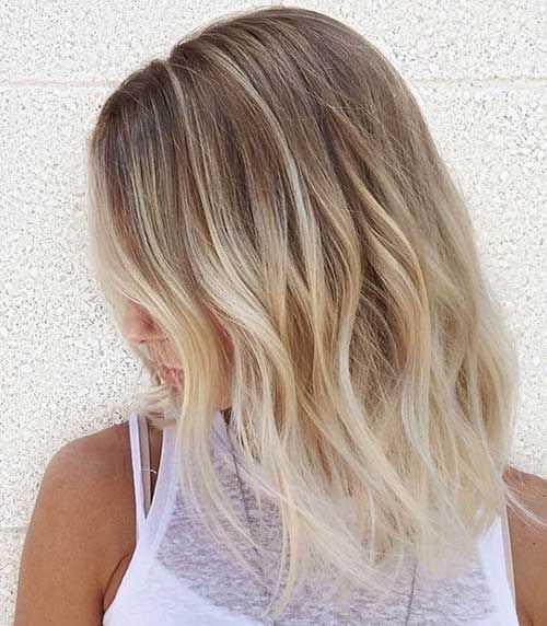 capelli medi ombre hair
