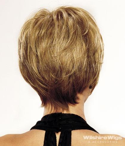 Tagli di capelli medi visti da dietro