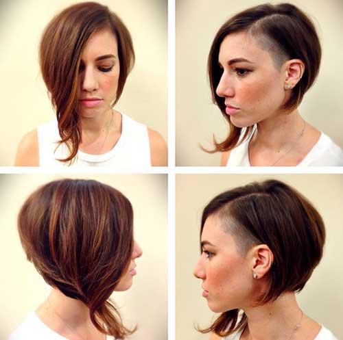 Asymmetrical-Funky-Short-Hair