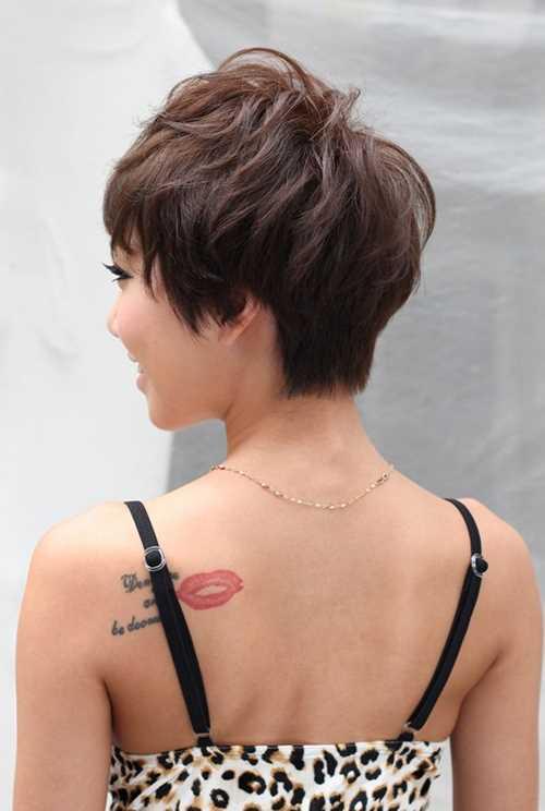 Back-View-of-Layered-Short-Haircut