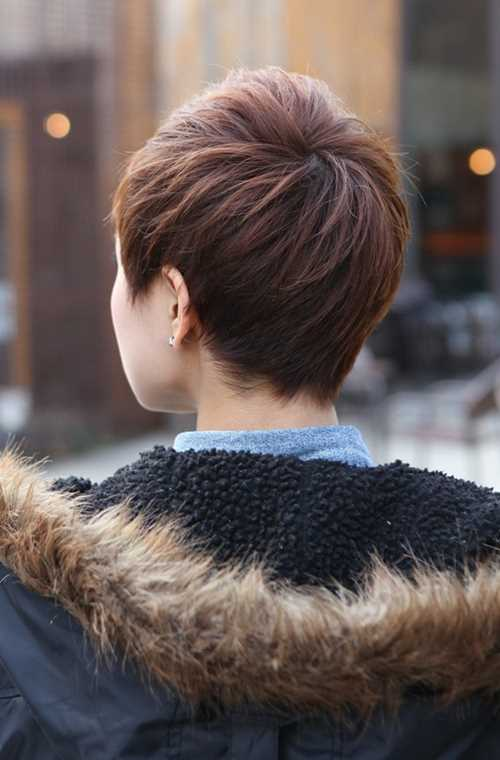 Back-View-of-Short-Layered-Boyish-Cut