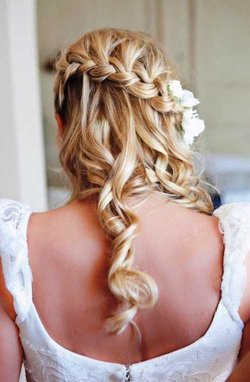 Beautiful-Waterfall-Braid-Hairstyles-For-Wedding