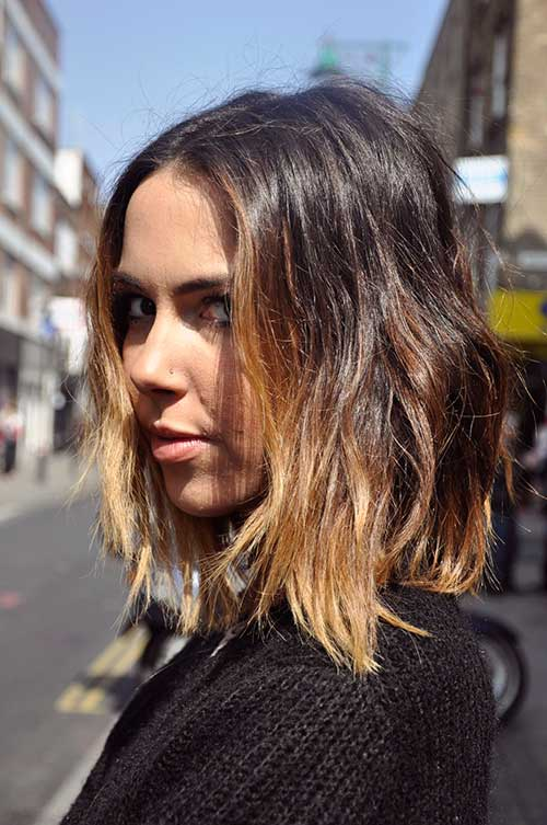 Blonde-Ombre-Bob-Short-Hair Blonde-Ombre-Bob-Short-Hair