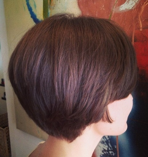short hair styles back view 30 bob corti visti da dietro 9605 | Bob Haircut Back View Short Hairstyles 2015