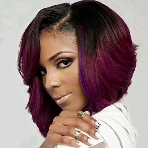 Brazilian-Full-Lace-Two-Tone-Human-Virgin-Hair-Wig-Glueless-Full-Lace-Short-Ombre-Bob-Wig