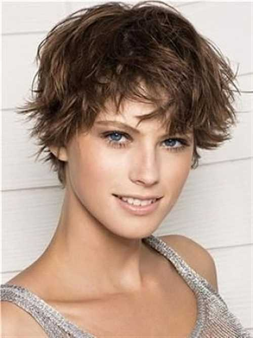 capelli corti mossi Brown-Short-Wavy-Hairstyle2