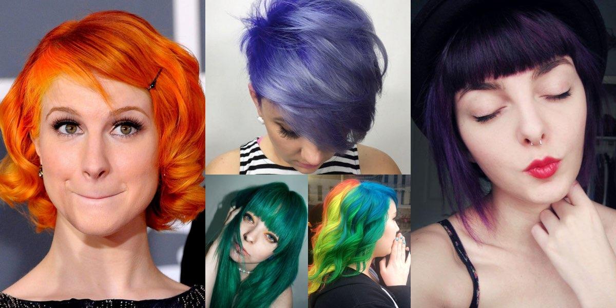 spesso Colori particolari per capelli, tante idee tra le quali scegliere! FT53