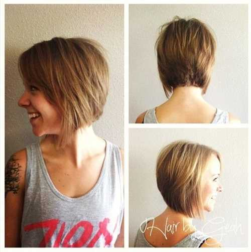 Cute-Easy-Hairstyles-for-Short-Hair-Chic-Bob-for-Women-and-Girls