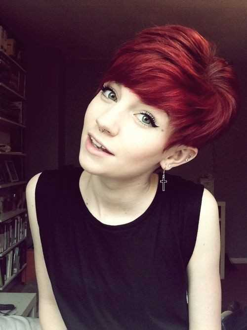 Cute-Short-Red-Hair-Pixie-Haircut-for-Girl