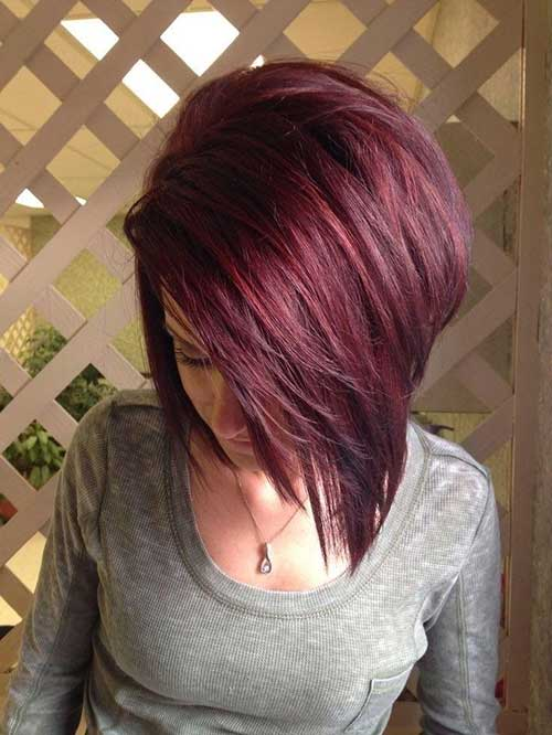 Dark-Red-Hair-Layered-Bangs