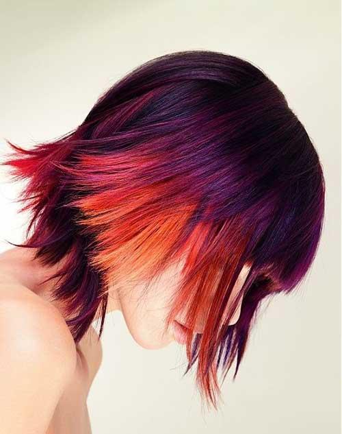 Funky-Multi-Color-Short-Hair