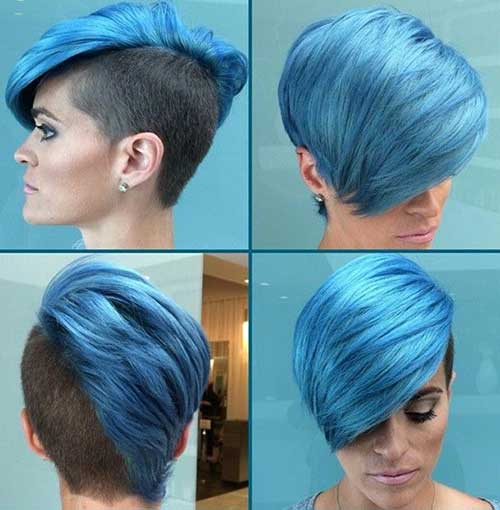 Funky-Short-Blue-Hairstyles Funky-Short-Blue-Hairstyles
