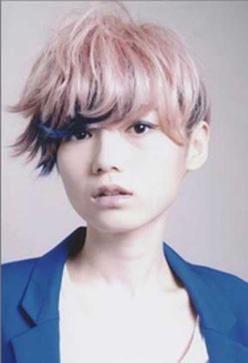 Funky-Short-Pastel-Pink-Hair Funky-Short-Pastel-Pink-Hair