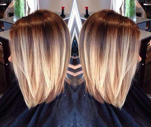 Ombre Hair Biondo Al Top Anche Sui Capelli Corti