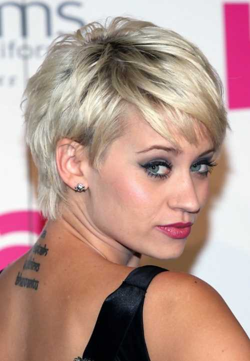 Kimberly-Wyatt-Layered-Messy-Short-Pixie-Haircut