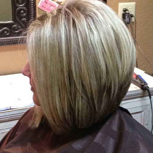 stacked haircut medium length bob guida per la migliore scelta in base a viso e 2884 | Long Layered Stacked Bob