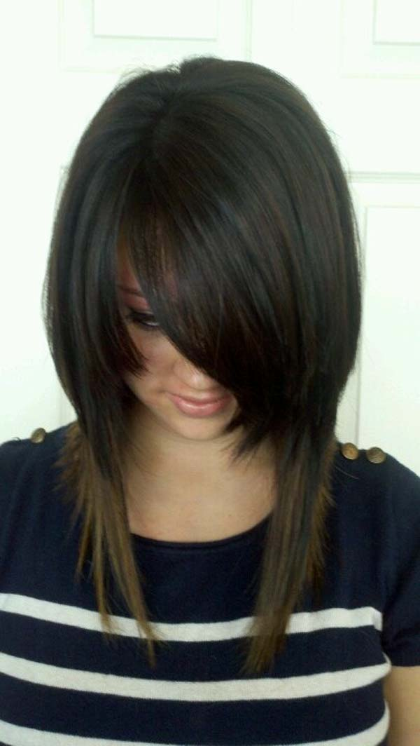 Long-inverted-Bob-Hairstyle-for-Black-Hair
