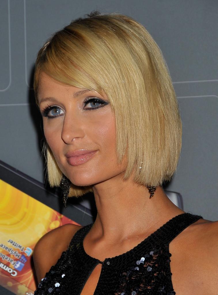 Paris Hilton Inverted Bob Haircut Capellistyle