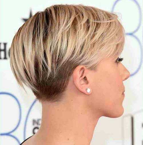 short haircuts from the back view capelli corti biondi 2016 tante idee da cui prendere spunto 5236 | Pixie Haircut Back View