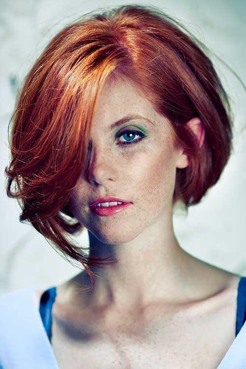 Red-Hair-Bob