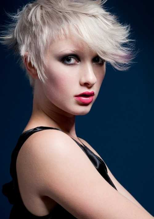 pixie tousled