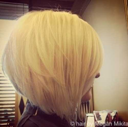 Short-Blonde-Stacked-Bob-Hairstyles