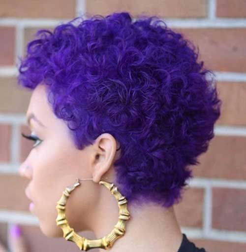 Short-Cute-Hair-Cuts-Purple-Color