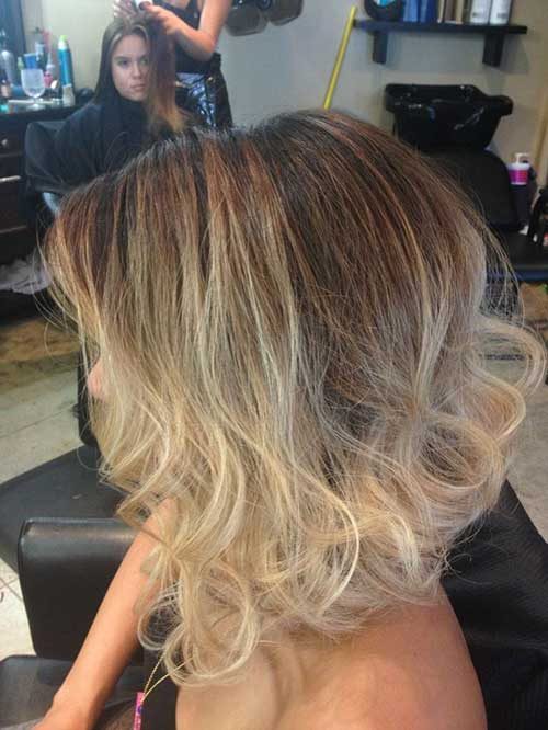 Short-Hair-Blonde-Ombre-Colored Short-Hair-Blonde-Ombre-Colored