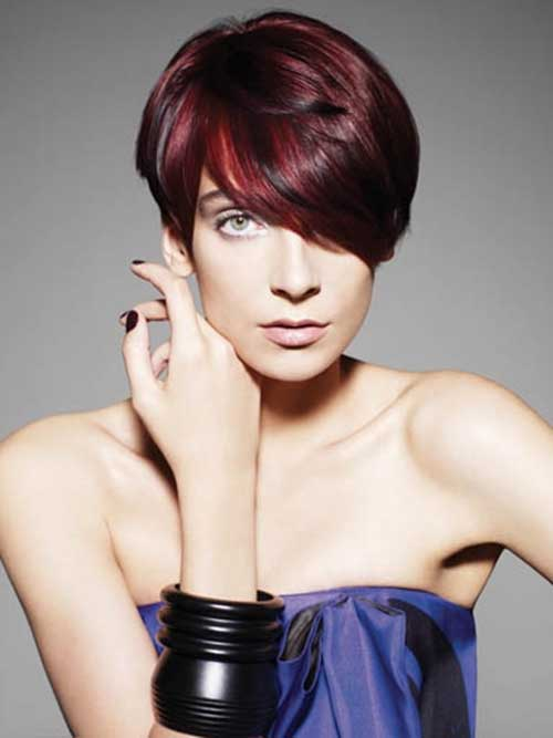 Short-Haircuts-for-Dark-Red-Hair