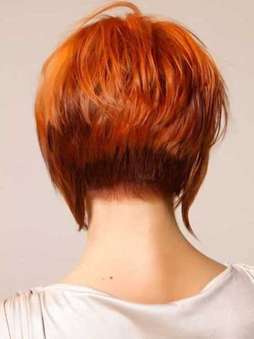 Short-Red-Stracked-Bob-Hairstyle
