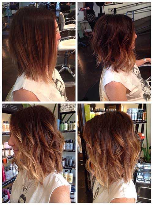 capelli corti e ombre hair Short-Wavy-Hair-1