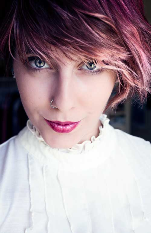Short-pink-and-purple-hair Short-pink-and-purple-hair