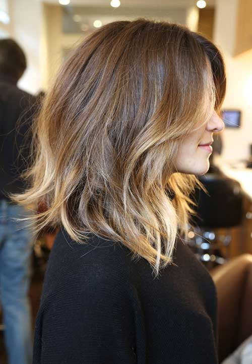Short-to-Medium-Haircuts-Ombre-Hair