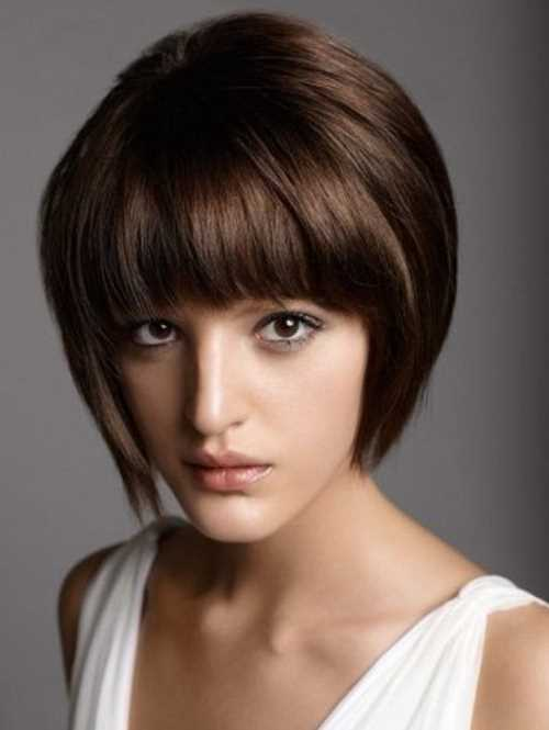 Stacked-Bob-Haircut-with-Straight-Bangs