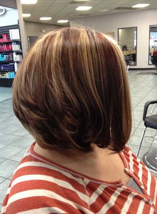 stacked haircuts for thick hair bob scalati 33 favolosi esempi tutti per voi 3740