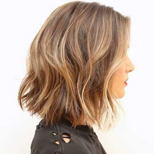Thick-Wavy-Hair-Blonde-Ombre-Short-Cut