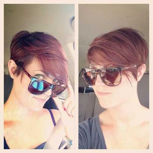 capelli corti con ciuffo laterale Trendy-Pixie-Haircut-for-Side-Bangs