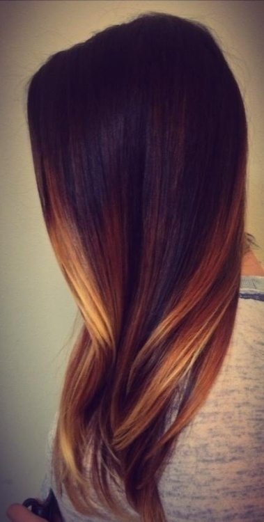 brown-ombre-hair-color