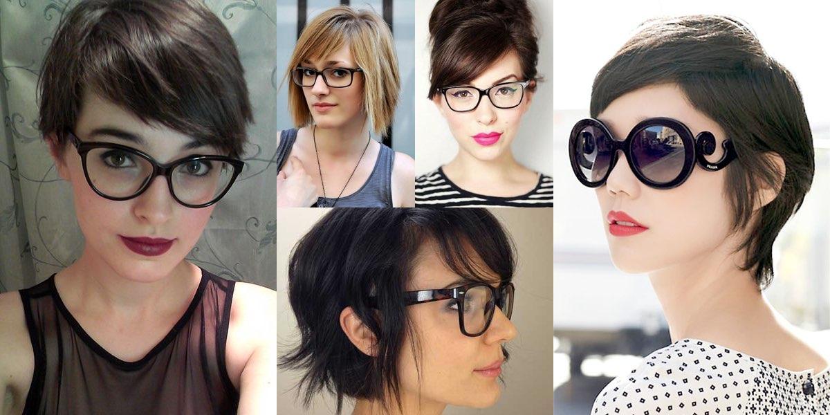 capelli corti occhiali