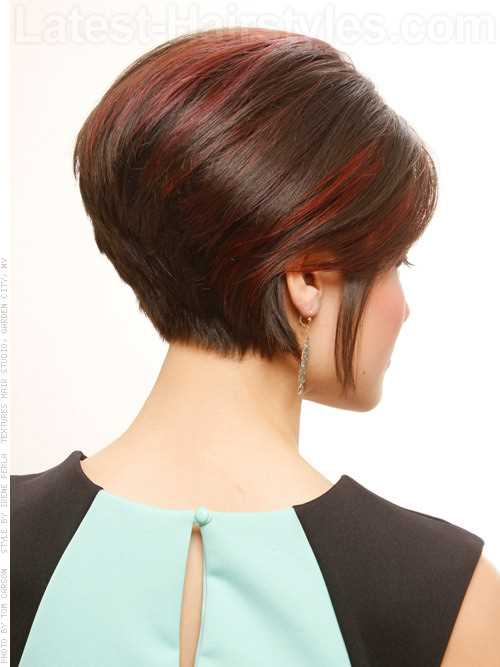 faux-do-smooth-pretty-brightly-highlighted-look-back-view
