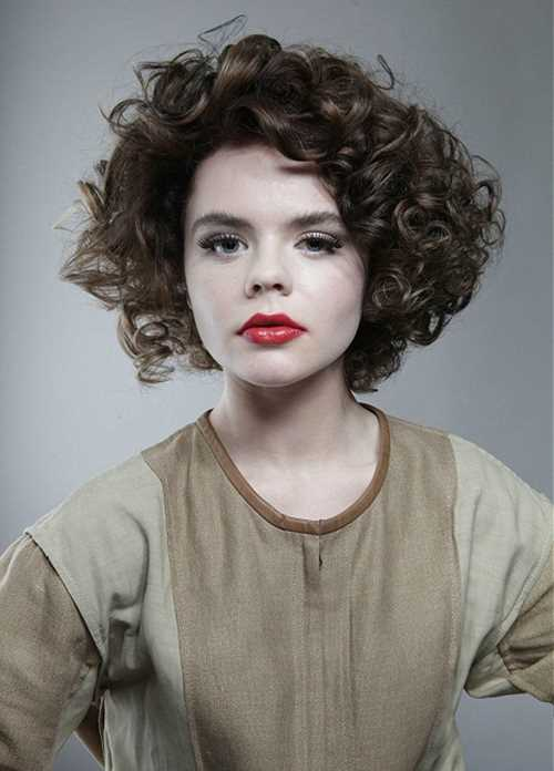short hair styles for women with thick hair tagli corti per capelli ricci una gallery da cui prendere 9980 | hairstyles for thick curly hair simple hairstyle ideas for women short hairstyles for thick wavy hair