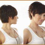 capelli corti con ciuffo laterale