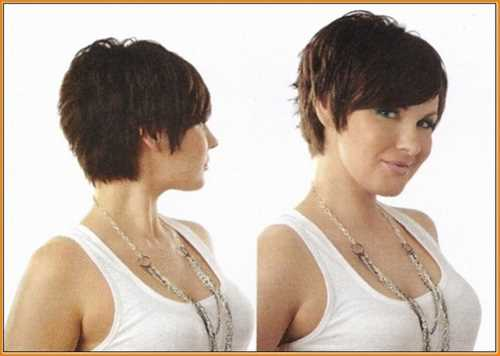 Tagli capelli corti con ciuffo