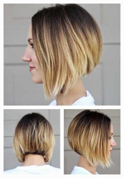 capelli corti e ombre hair