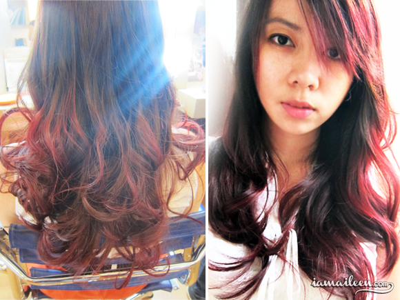 ombre-hair-red