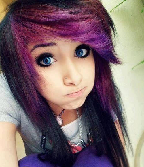 purple-color-emo-hairstyle-ideas-for-girls-1