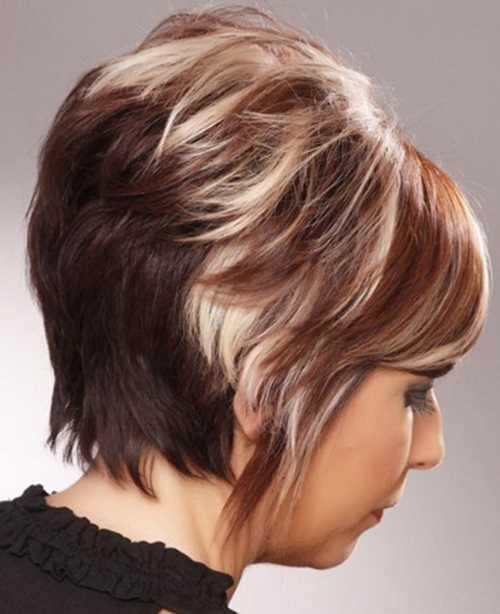 short-hair-colors-highlights