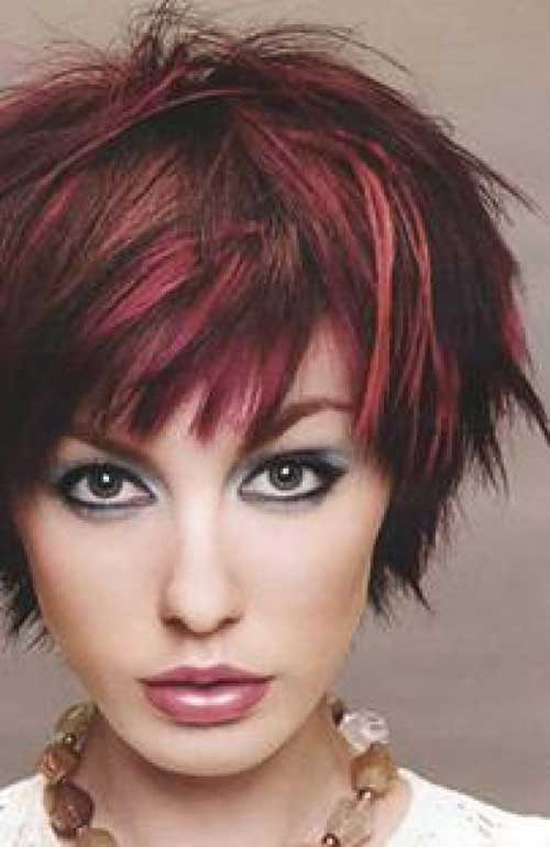 short-red-hairstyles-brown short-red-hairstyles-brown