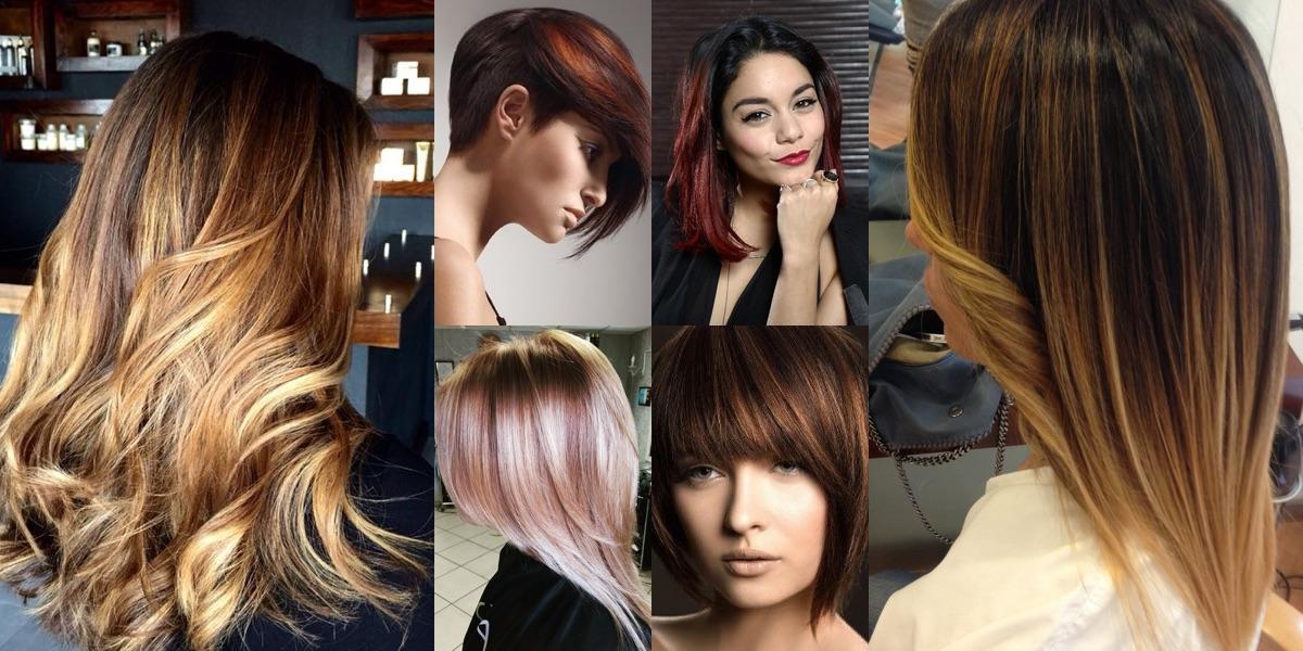 Colore ai capelli scuri