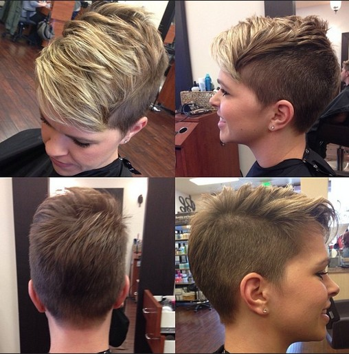 Trendy-short-haircut-for-young-ladies
